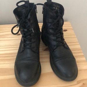 Aldo Martens Style Leather boots